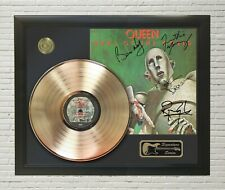 "Queen Framed Lp Record Reproduction Signature Display ""M4"""