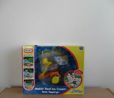 LITTLE TIKES MAKIN' REAL ICE CREAM~TASTY TOPPINGS~BRAND NEW IN BOX