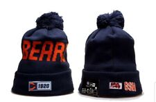 2019 Chicago Bears New Era NFL Knit Hat On Field Sideline Beanie Hat
