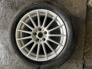 "jaguar xf 17"" Alloy Wheel And Tyre GX631007BA"