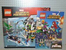 LEGO® Super Heroes Bauanleitung 76059 Spiderman Doc Ock's Tentacle Trap NEU