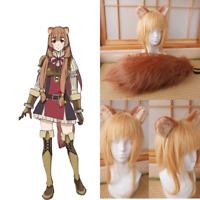 Tate no Yuusha no Nariagari Raphtalia Cosplay Ears Tail Handmade Anime Props