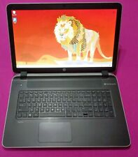 Hp 17-F262nr pavilion laptop Amd A10-4655M 2.0-2.8ghz 8Gb Ram New 480Gb Ssd W10