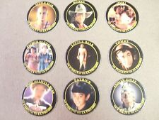 INDIAN IN THE CUPBOARD MOVIE POGS/MILKCAPS COMPLETE SET OF ALL (9) 1995