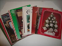 Vintage 1983-1995 Christmas Counted Cross Stitch Phamphlets & Booklets Lot of 31