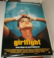 Rolled 2000 Girlfight Double Sided Movie Poster Michelle Rodriguez Jamie Tirelli
