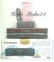 Funai D50Y-100M Hifi Stereo VHS Recorder / VHS Videorecorder OVP 1 Jahr Gewährl.