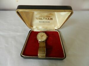 Vintage Waltham Executive Mens 17 Jewels Swiss made Watch  in Working Order
