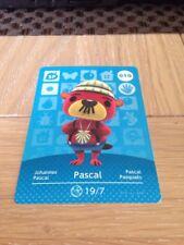 Carte Amiibo Animal Crossing - 010 Pascal (SP)