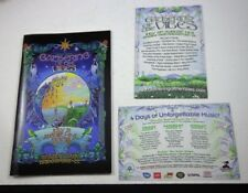 13TH GATHERING of the VIBES CONCERT PROGRAM BOOK Black Crowes-NRPS-+cards