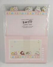 San-x Mamegoma Omekashi Collection Letter Set stationery Japan 2007 Vintage