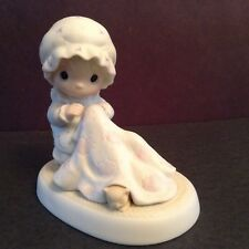 Precious Moments #12009 Love Covers All 1984 Olive Branch Mark