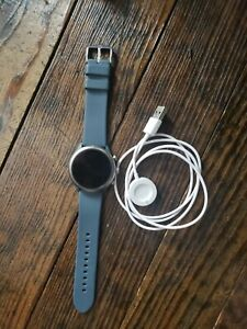 Fossil FTW4036 Sport Smartwatch 43mm Gray silicone band