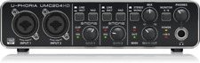 Behringer UMC204HD 2x4 24-Bit/192 kHz USB Audio MIDI Interface