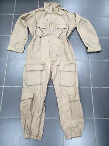 British Army Beige Tan AFV Coveralls Overalls Flame Retardant Flight Suit Work