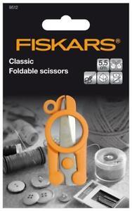 FISKARS Foldable Mini Scissors 10cm - Embroidery Sewing Key Ring