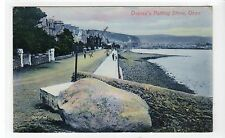 OSSIAN'S PUTTING STONE, OBAN: Argyll postcard (C11298)