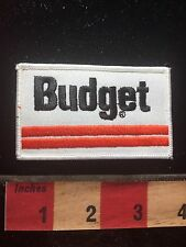 Circa 1980s / 90s BUDGET Car Rental Advertising Patch 76WU