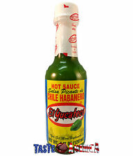 El Yucateco Green Hot Sauce Salsa Picante De Chile Habanero 120ml Bottle