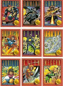 1993 Skybox X-Men Series 2 **YOU CHOOSE** Marvel Vintage Trading Cards Impel