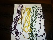 Necklaces (5 Fun Plastic Beads) - Mardi Gras Personal wear