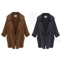Winter Women Warm Long Sleeve Jacket Knitted Cardigan Coat Parka Outwear