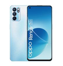 "OPPO RENO 6 5G 128GB ARTIC BLUE 8GB RAM DUAL SIM ANDROID DISPLAY 6.43"""