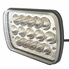 1 PC 7x6 5x7 inch CREE Crystal LED Sealed Beam Headlights Replace HID GMC FORD