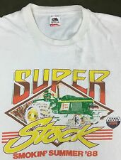 Vintage Mens XL 1988 National Tractor Pullers Assoc Super Stock Race T-Shirt