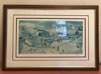 """Will Moses """"Shepherd's Nob"""" Signed and Numbered 3/500 . COA (20""""x11"""")"""
