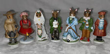 New ListingFranklin Mint The Wood Mouse Family Set Of 7 Figurines