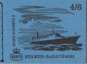 GREAT BRITAIN STAMPS MNH BOOKLET 4/6