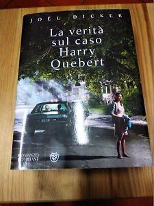 LA VERITA' SUL CASO HARRY QUEBERT di JOEL DICKER, ed BOMPIANI