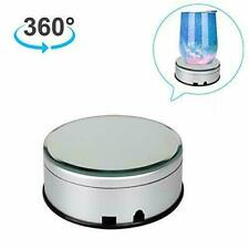 Cup Display Stand Turner For Tumblers, Battery/Usb Operated 360 Degree Rotating