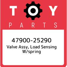 47900-25290 Toyota Valve assy, load sensing w/spring 4790025290, New Genuine OEM