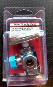 Water supply valve
