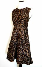 Carolina Herrera Leopard Print Formal Dress. Retails $860 Price $360 Size 4 NWT
