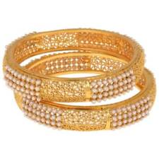 Indian Fashion Jewelry bangles bracelets Bollywood ethnic gold traditional