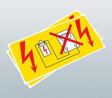 Bosch Bobina de advertencia calcomanía/Bobina Pegatina/alta tensión Pegatina/Calcomanía De Motor