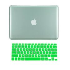 """2in1 GREEN Crystal Case for NEW Macbook Pro 13"""" A1425 Retina display +Key Cover"""