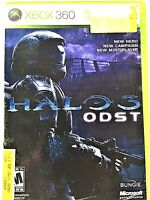 Halo 3 ODST Microsoft XBOX 360 VIDEO GAME + Manual + CASE Low Prices ODST TESTED