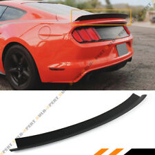 For 2015-19 Ford Mustang GT Ecoboost R Style Matt Blk Trunk Lid Spoiler Wing