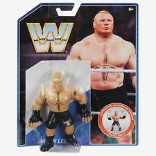 WWE BROCK LESNAR RETRO SERIES 1 MATTEL ACTION FIGURE HASBRO STYLE