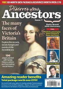 Discover Your Ancestors Issue 7 - Family History / Genealogy Magazine