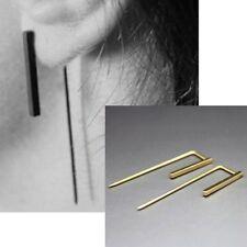 Screw Back (pierced) Copper Round Costume Earrings