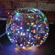 set 80 LED multicoloured fairy decorative lights Christmas XMAS OUTDOOR + TIMER