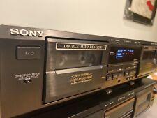 SONY TC-WE425 Cassette Deck, Dolby B&C HX-Pro Auto REC Vol., High density Heads