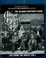 The Allman Brothers Band Live From The Vaults Vol. 1 Blu-ray Case 1 Disc F/S