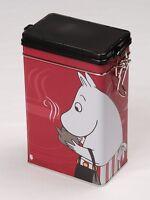 Moomin Coffee Tea Tin Can New Momin Mamma Red Martinex