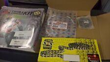 Bike It Triple S Gold O-ring Chain & JT Sprocket Kit Honda CBF600 08- JTKHCBF6C